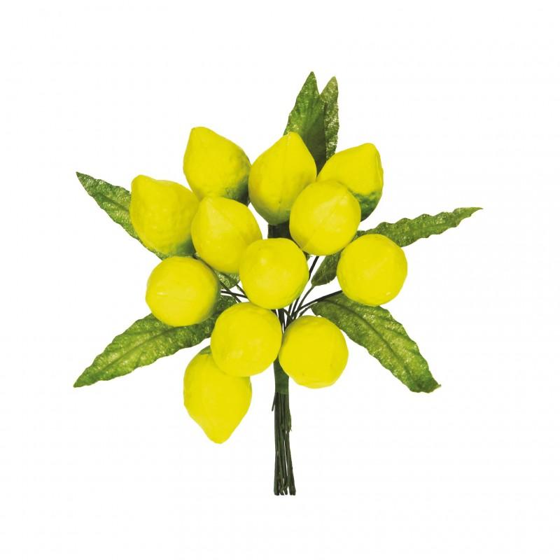 Limoni con foglie gialli pz.72