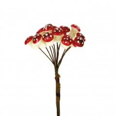 Funghetto piccolo rosso pz.72