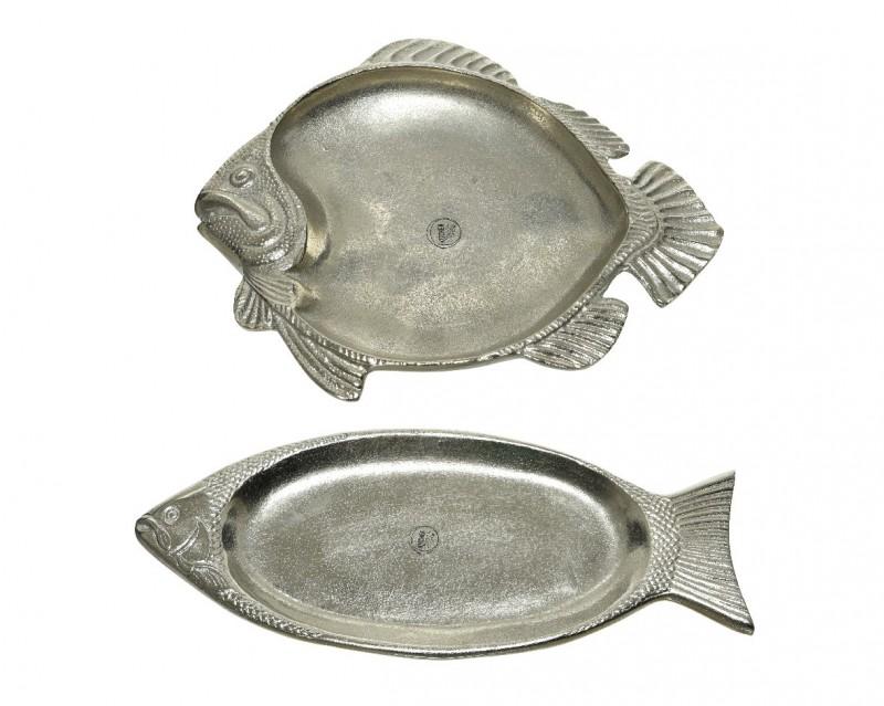 Piatto piastra Pesce 2 forme