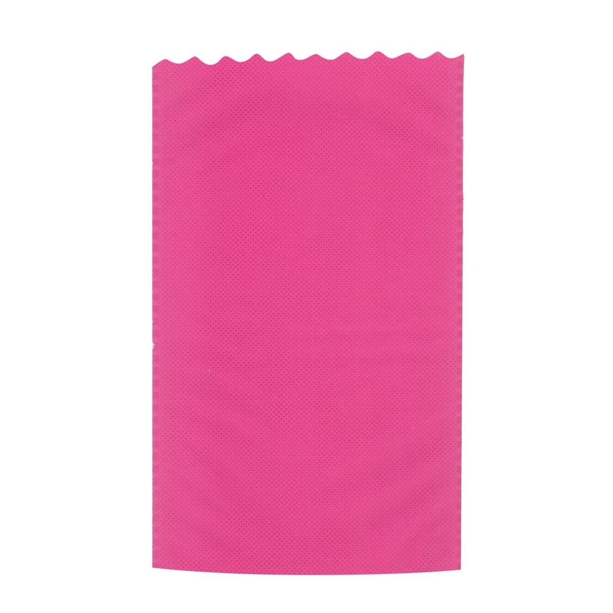 Busta Regalo Tessuto Non Tessuto TNT Colorata Confezione 25 Pezzi Fuxia