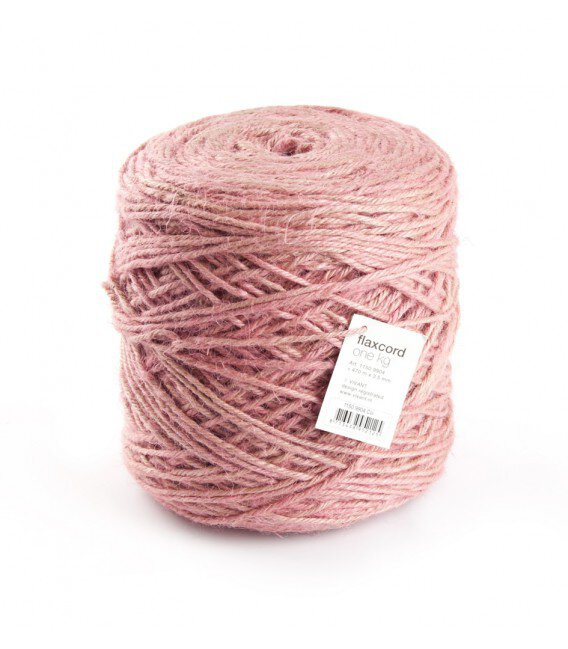 Nastro Corda Grezza 3,5 Mm. 470 Mt. Rosa