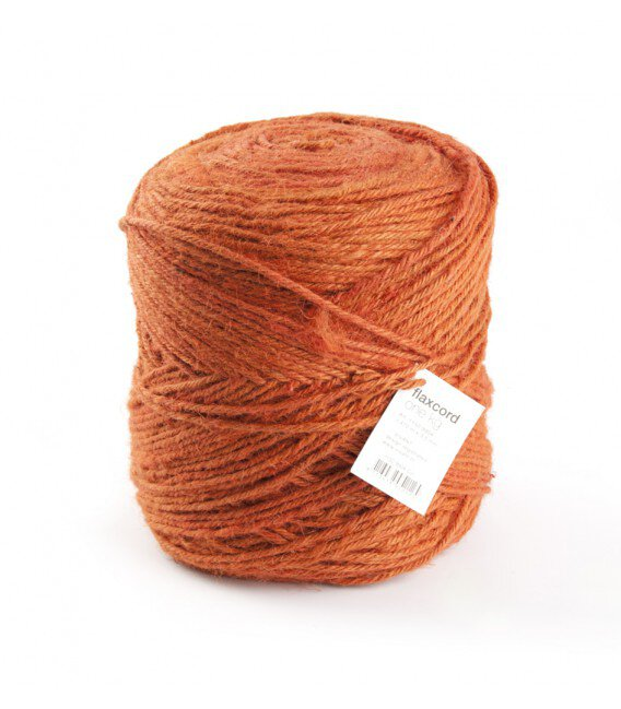 Nastro Corda Grezza 3,5 Mm. 470 Mt .Arancio