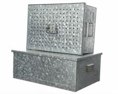 Cassetta in Alluminio con coperchio