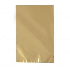 Busta Regalo Polipropilene Colorato Metallizzato Opaco Confezione 50 Pezzi Oro