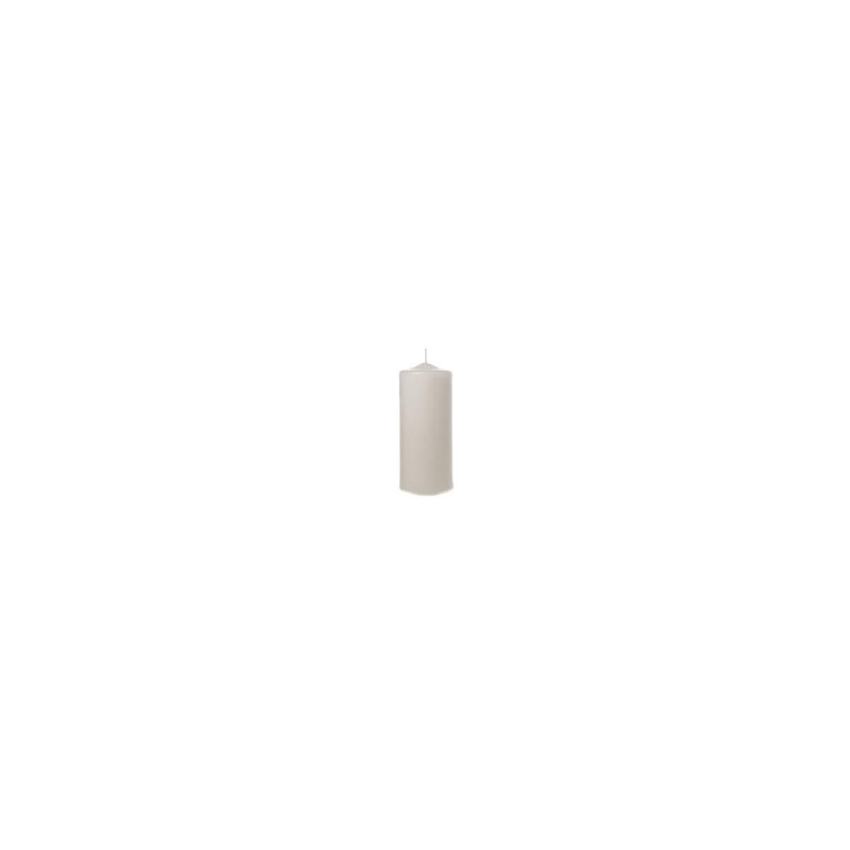 4 Moccoli Laccati mm 200 x dm 60 Bianco