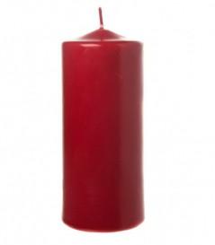 8 Moccoli Laccati mm 120 x dm 60 Rosso
