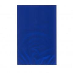 Busta Regalo Polipropilene Colorato Metallizzato Opaco Confezione 50 Pezzi Blu