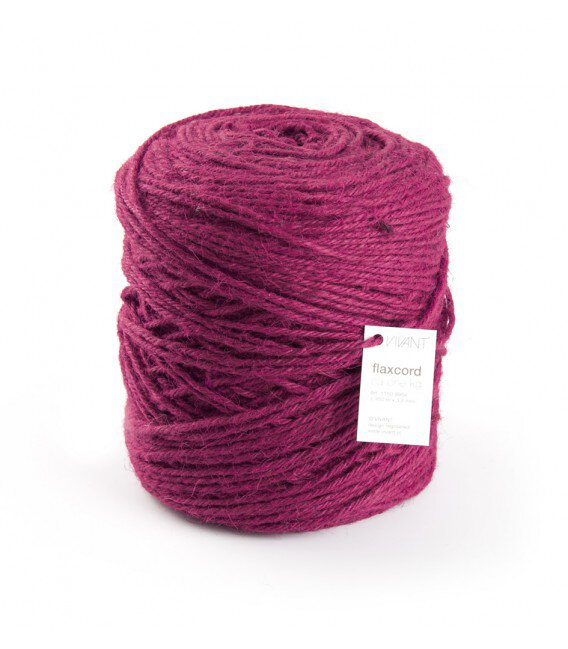 Nastro Corda Grezza 3,5 Mm. 470 Mt. Magenta