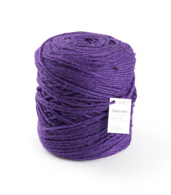 Nastro Corda Grezza 3,5 Mm. 470 Mt. Viola