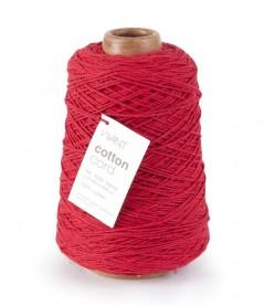 Cotton Cord mm. 2 X 500 Mt.  Rosso