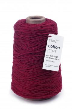 Cotton Cord mm. 2 X 500 Mt. Bordeaux