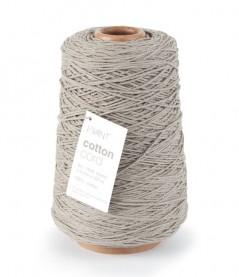 Cotton Cord mm. 2 X 500 Mt. Tortora