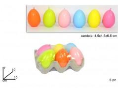 Candela Uovo colori assortiti
