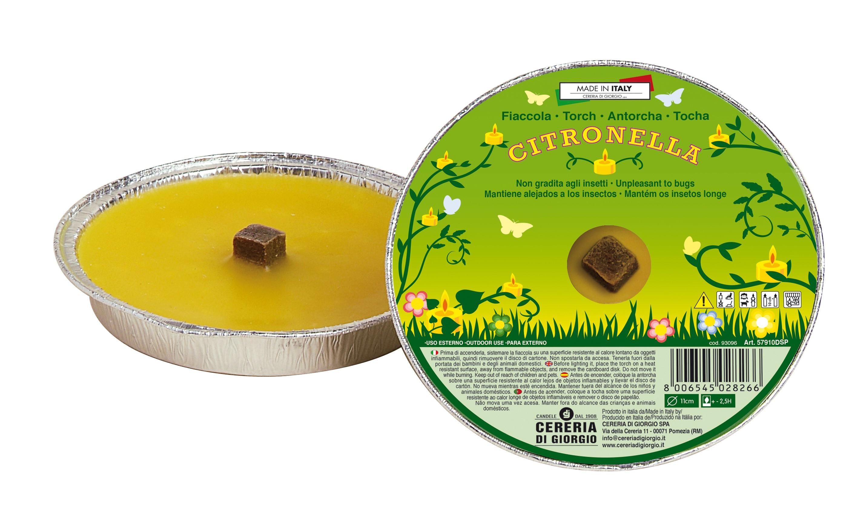 Fiaccola alla Citronella