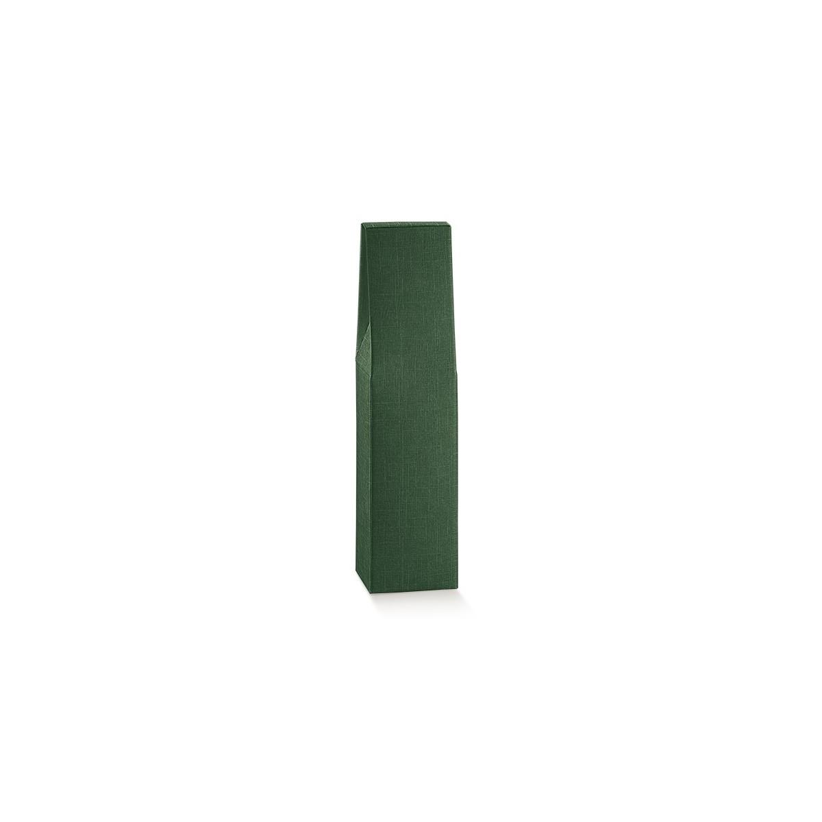 Scatola per 1 Bottiglia in Cartoncino Mm.90x90x370