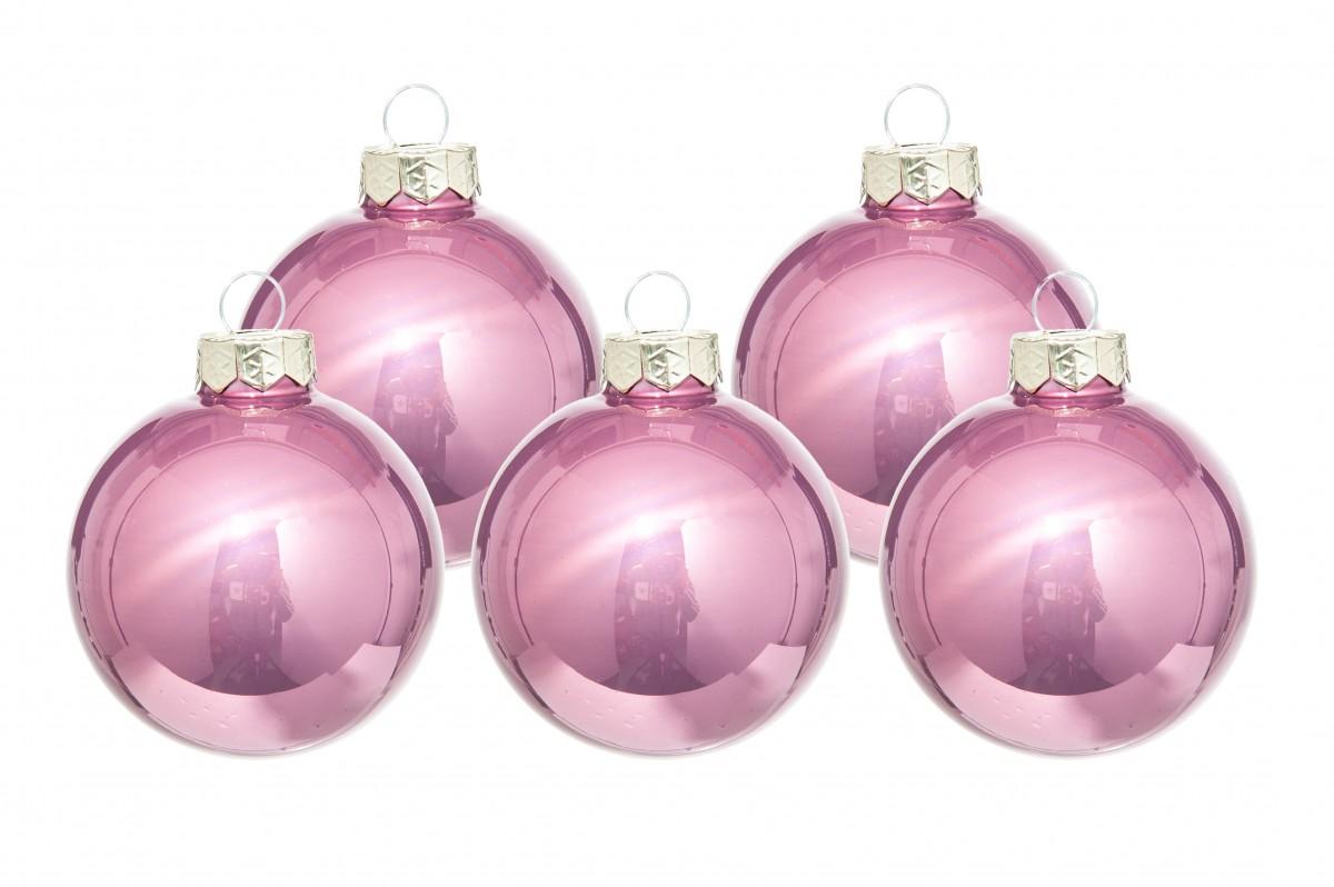 Palline Natale in vetro diametro 80 mm. pz. 16
