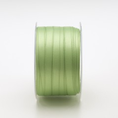Nastro Tessuto Doppio Raso Verde Prato
