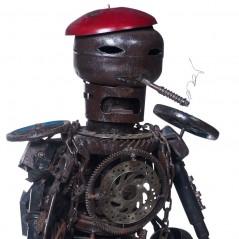 Robot operaio in Metallo
