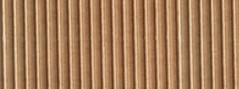 Foglio Cartoncino Onda Cm.70x50 Avana
