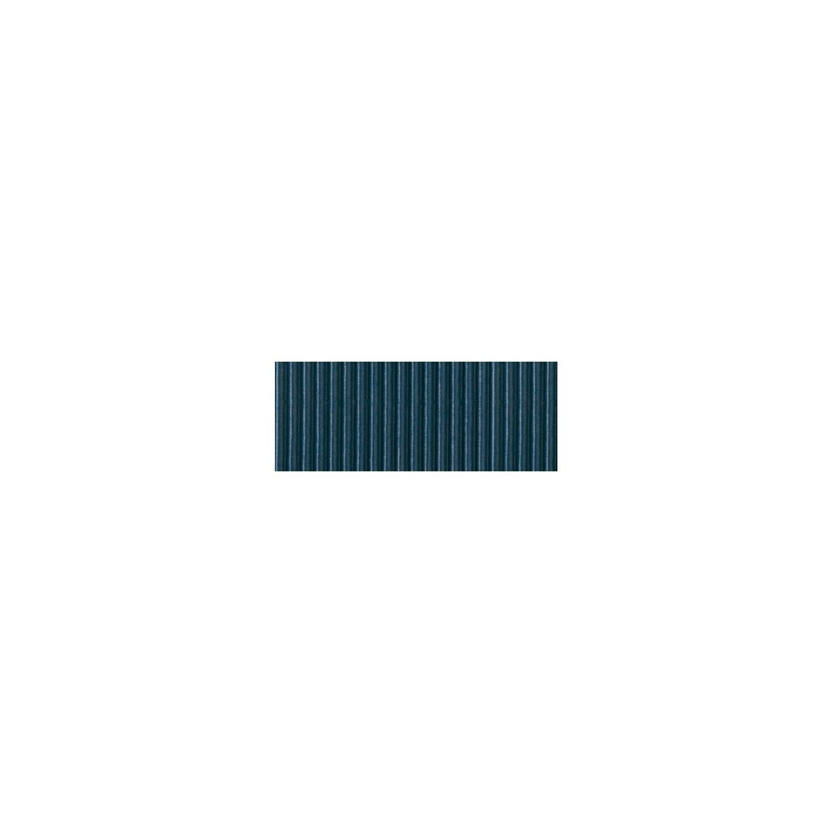 Foglio Cartoncino Onda Colorato Cm.70x50 Blu