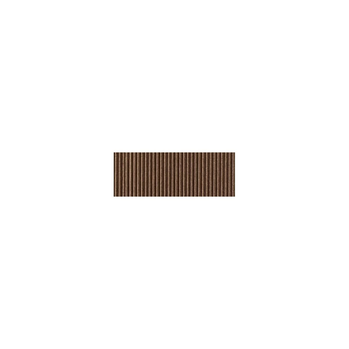 Foglio Cartoncino Onda Colorato Cm.70x50 Marrone