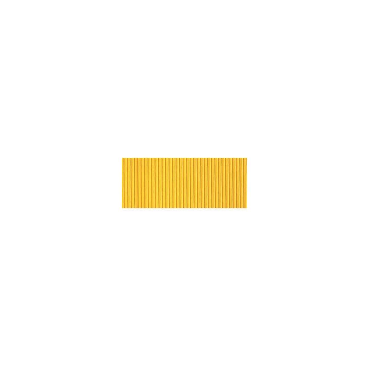 Foglio Cartoncino Onda Colorato Cm.70x50 Giallo