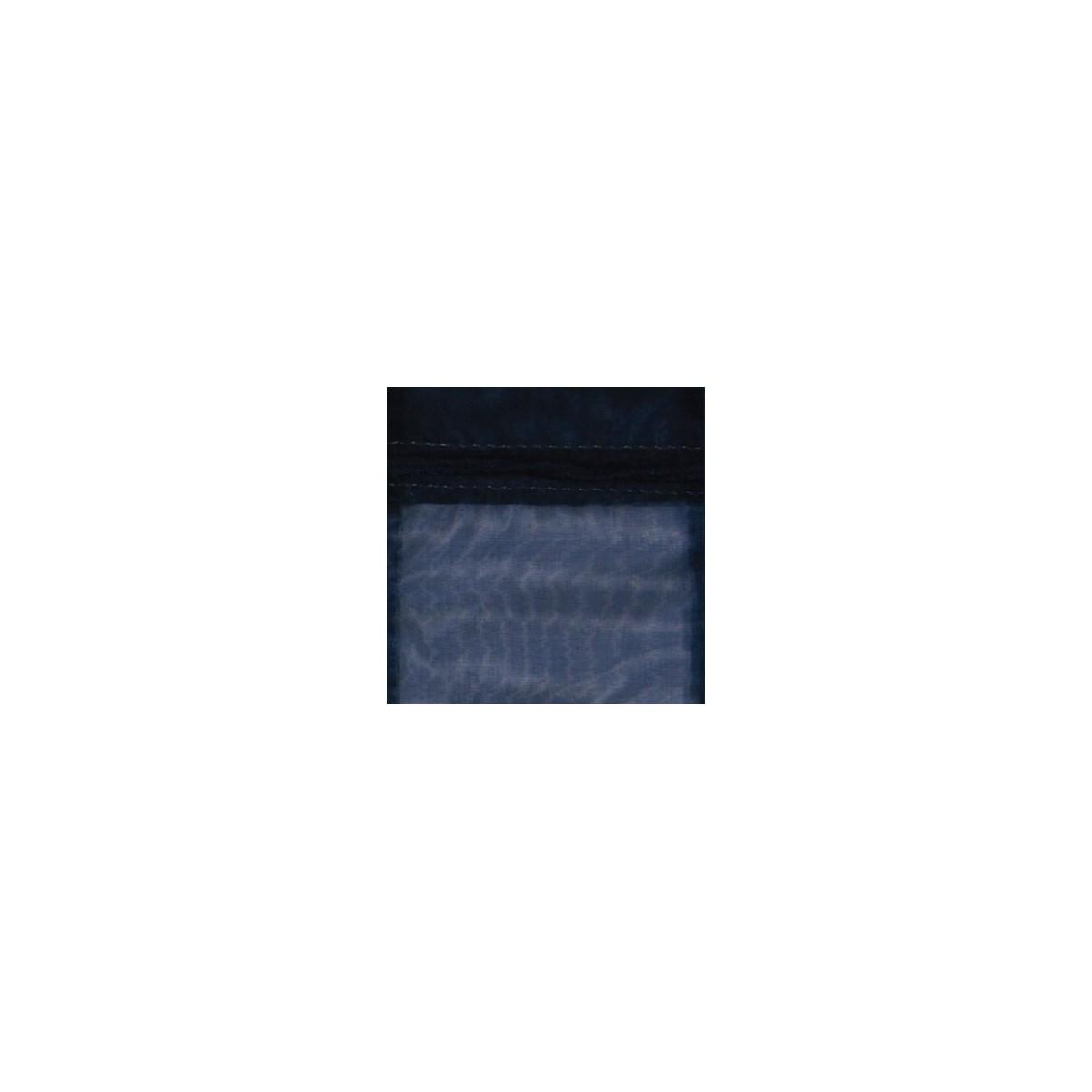 Sacchetto in Organza con Nastrino Confezione 10 Pezzi Blu