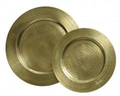 Piatto Oro Inciso D30cm