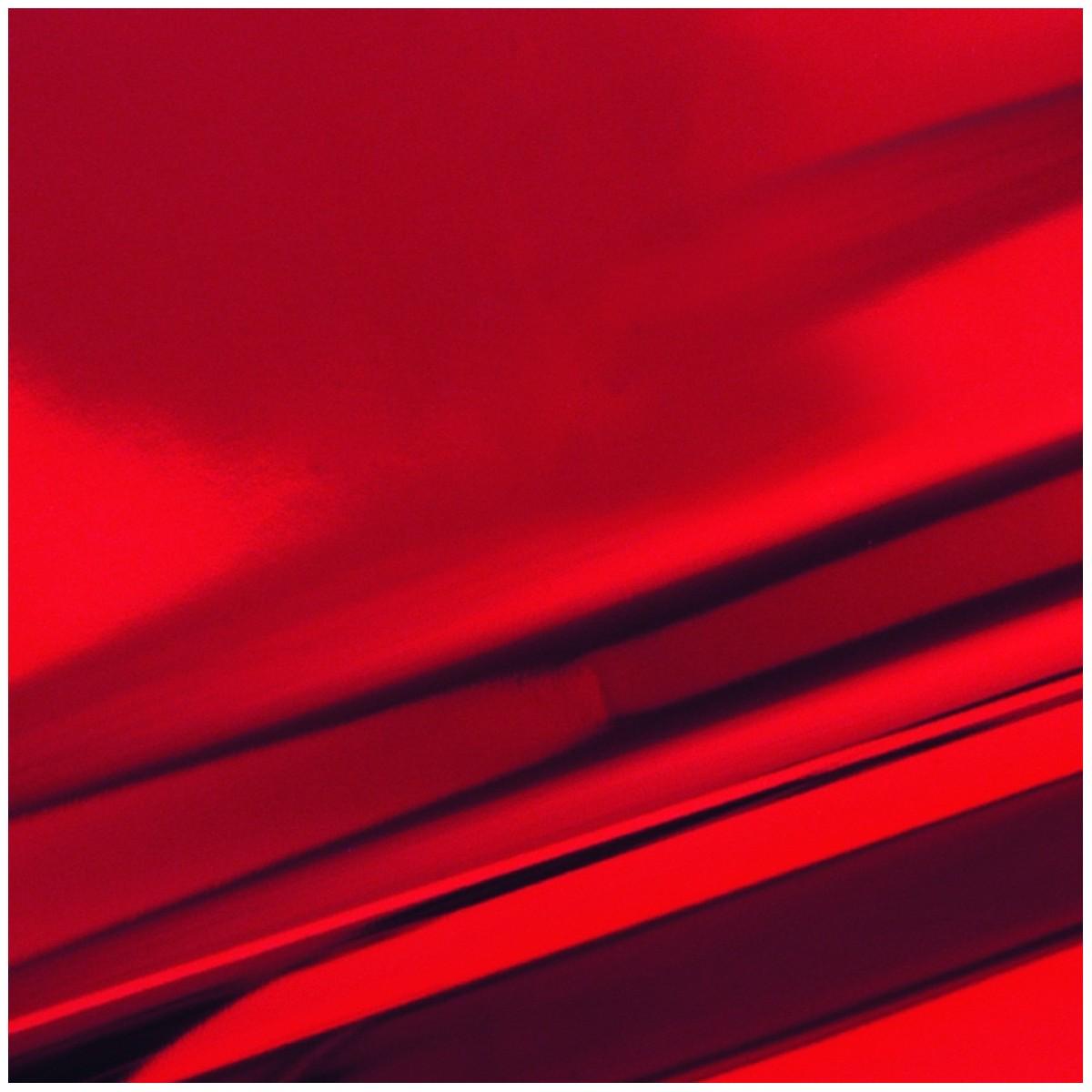 Busta Regalo Polipropilene Colorate Metallizzate Lucide in Confezione da 50/25 Pezzi Rosso