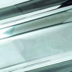 Busta Regalo Polipropilene Colorate Metallizzate Lucide in Confezione da 50/25 Pezzi Argento