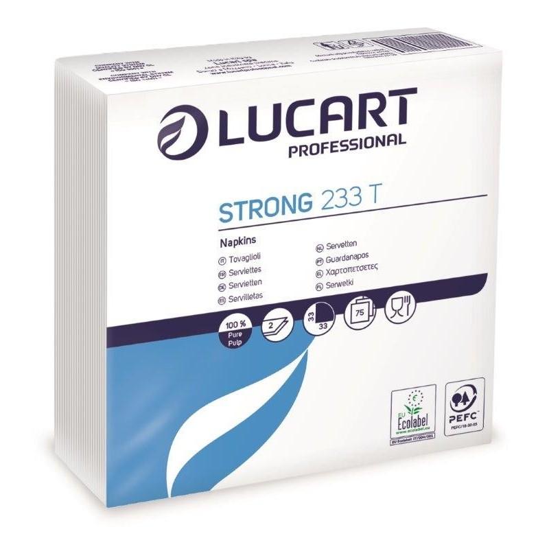 36 Pacchi da 75 Tovaglioli Doppio Velo Strong Lucart