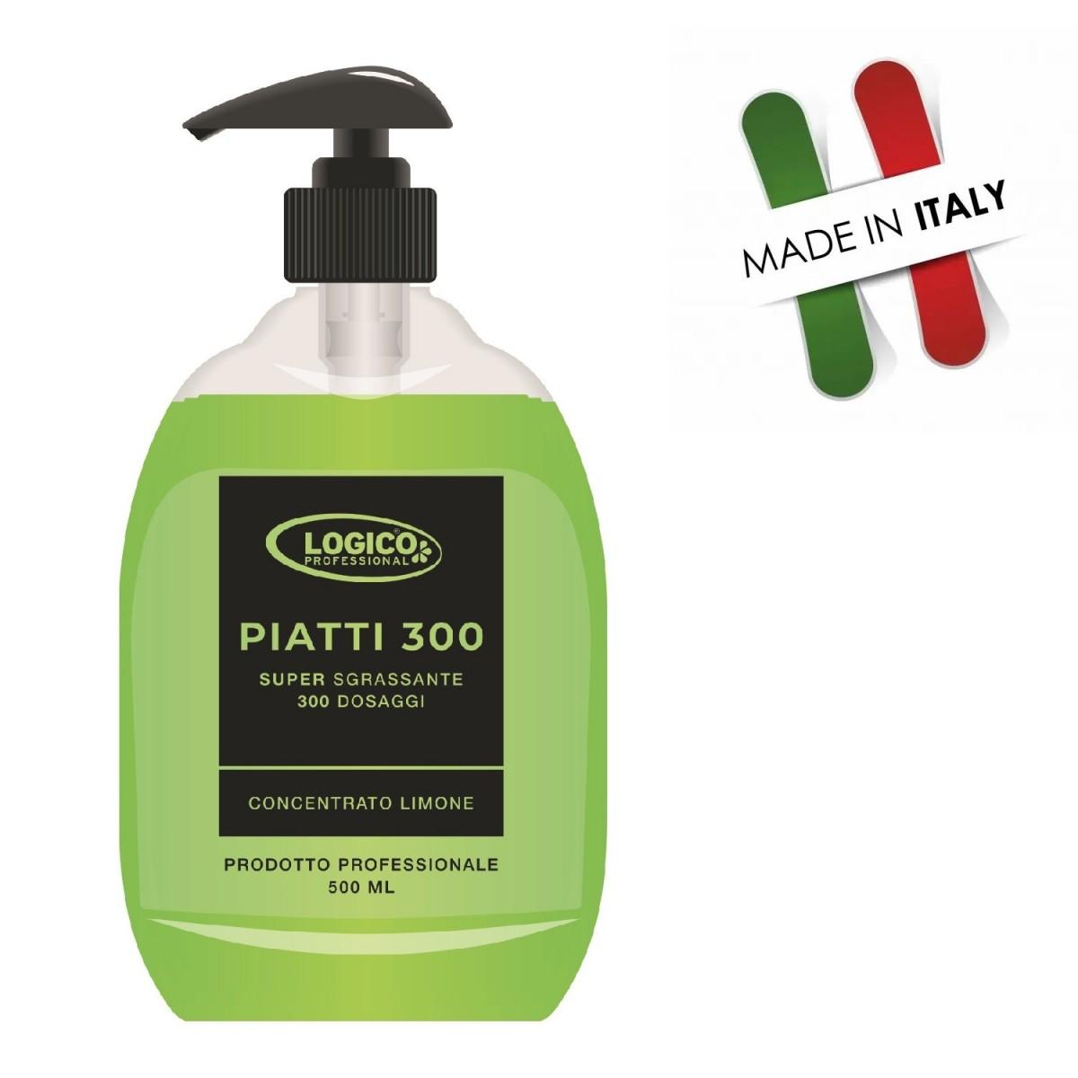 Detergente stoviglie superconcentrato 300 dosi. 500 ml.