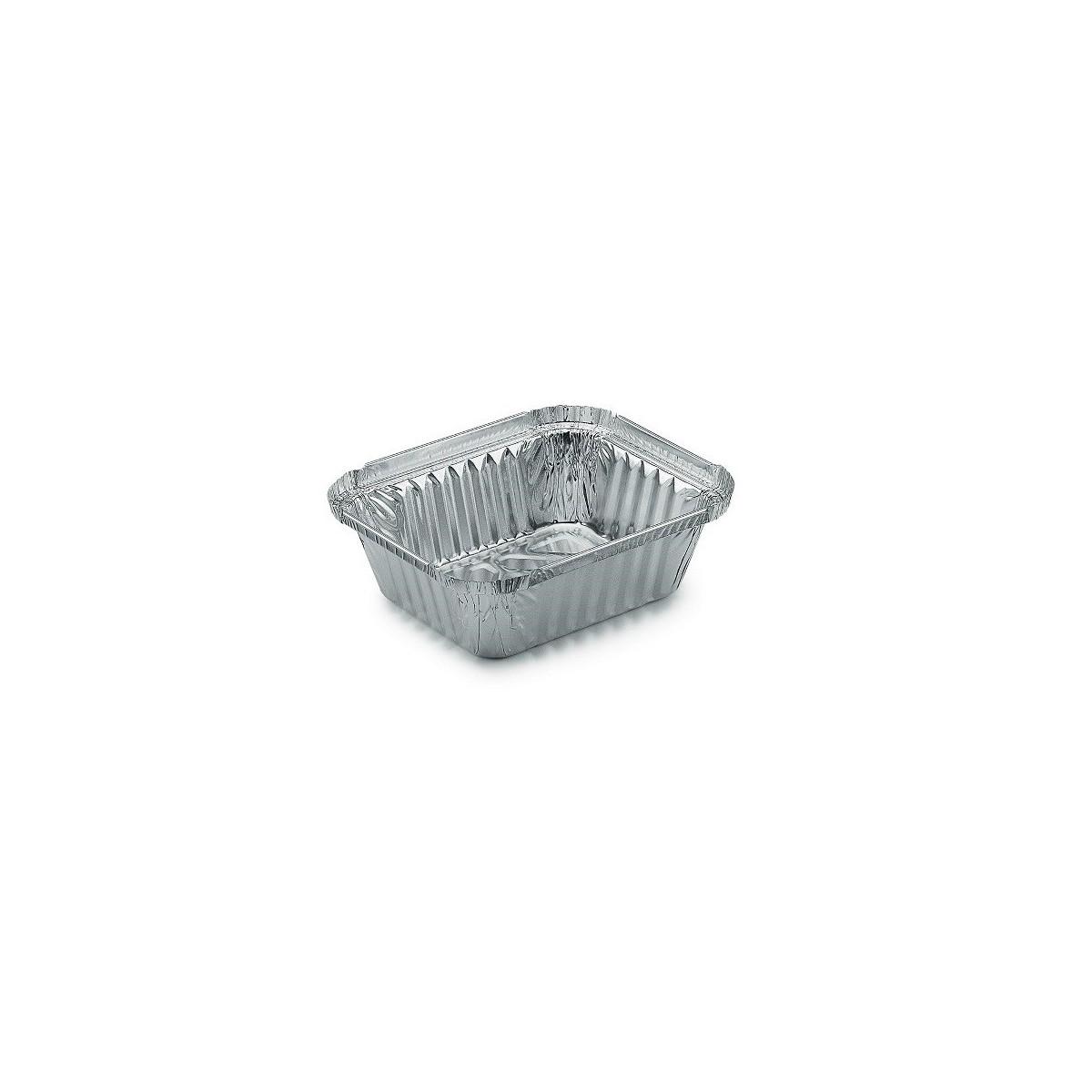Vaschette Rettangolari in Alluminio per Alimenti