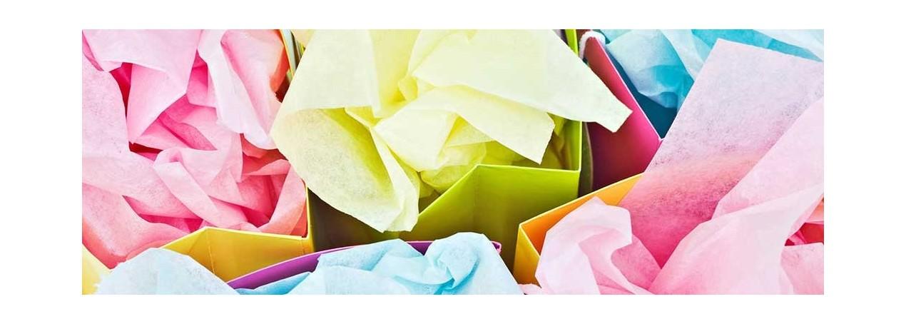 Carta Velina Neutra e  Colorata per impreziosire composizioni   RossiCarta