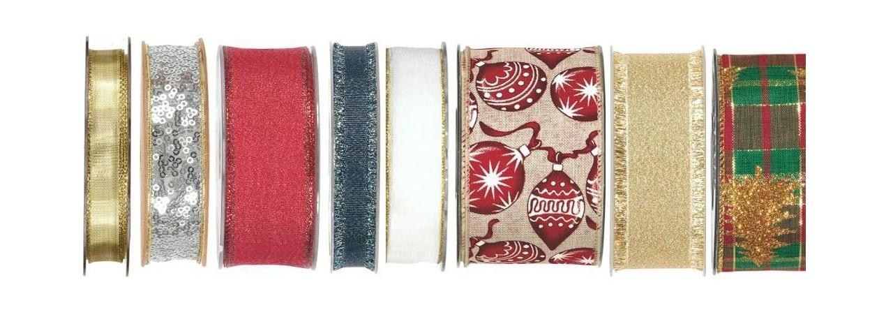 Nastri decorativi di Natale | RossiCarta