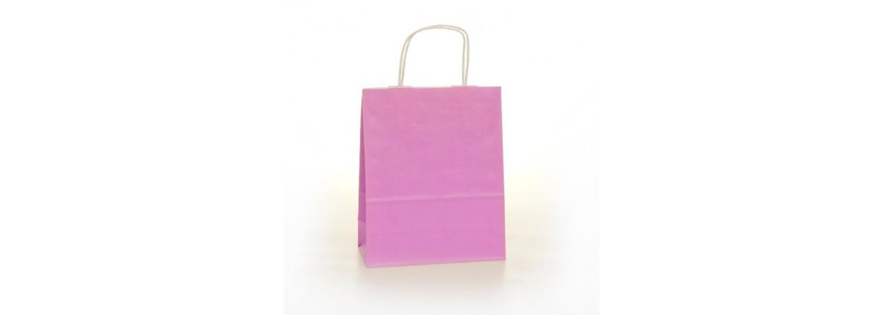Shopper in Carta con Maniglia Cordino