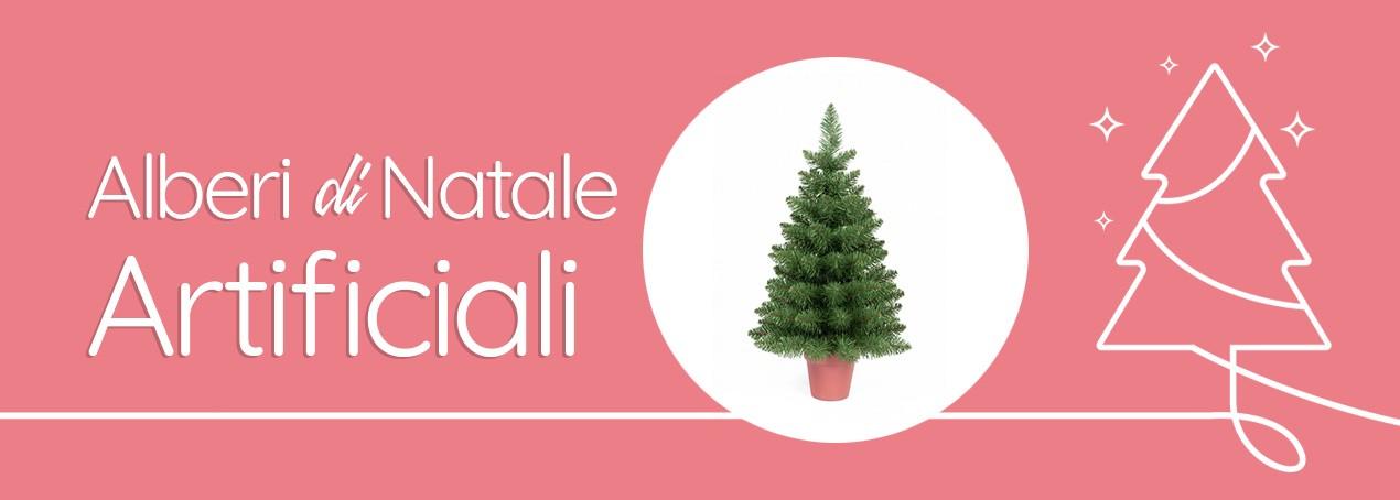 Alberi di Natale artificiali