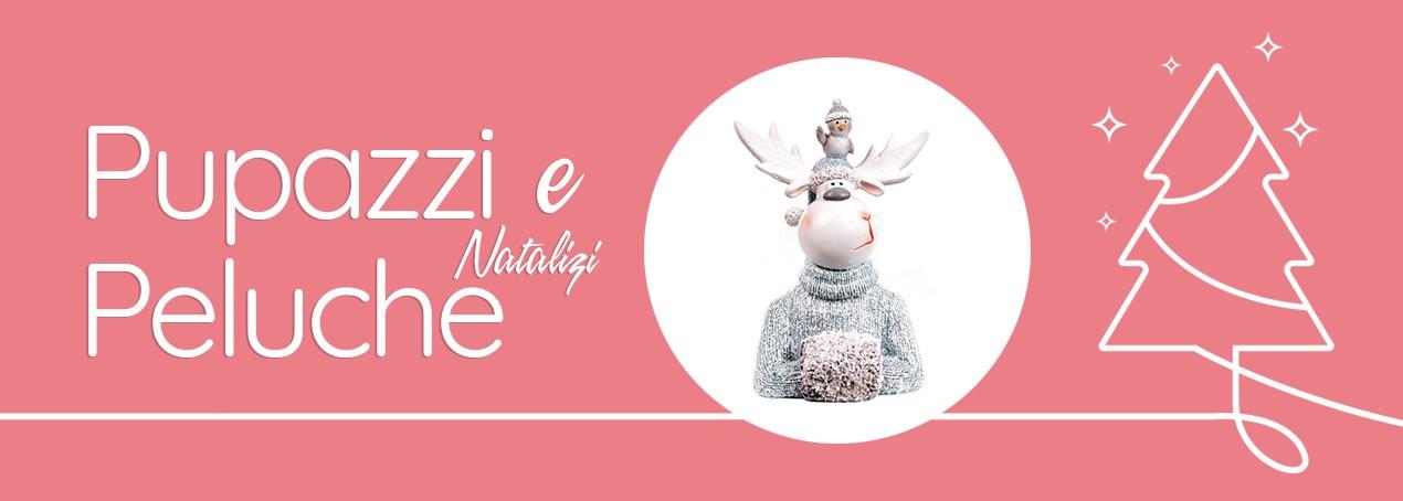 Pupazzi e peluche natalizi